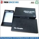 Коробка черных канцелярских принадлежностей бумажной коробки упаковывая для сбывания