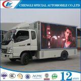 Bonne promotion de la camion publicitaire LED à 6 roues à vendre