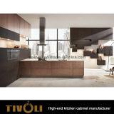 現代光沢の木の食器棚の家具(AP127)