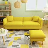 O sofá de madeira Washable nórdico novo da tela do projeto moderno ajustou-se (HC1168)