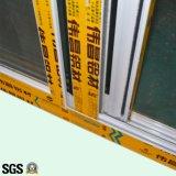 Puder-überzogenes schiebendes Aluminiumfenster mit Rasterfeld/schiebendem Aluminiumfenster K01007