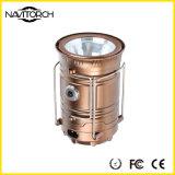 Lanterna di campeggio solare di ricarica doppia di modi luminosi doppi (NK-168)