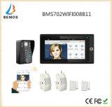 """Populäres 7 """" WiFi drahtloses RFID Kennwort-videotür-Telefon-Wechselsprechanlage-Türklingel IP-Kamera"""