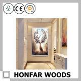 Cadre de peinture en bois noir pour décoration murale à la maison