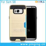Einbauschlitz-rückseitiger Deckel-Telefon-Kasten für Samsung-Galaxie S8
