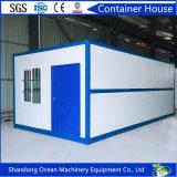 Casa Foldable do recipiente do conjunto fácil pré-fabricado do painel de parede do sanduíche e da construção de aço