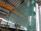Espaço livre, bronze, cinza, azul, vidro de flutuador verde do edifício (W-TP)