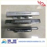 アルミ合金またはステンレス鋼のマリーナのハードウェアの係留クリートかボラード