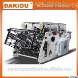 Karton, der den Verpackungsmaschine-Serien-Karton aufrichtend aufrichtet Maschine aufbereitetes Papier sich bildet