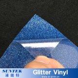 PU/PVC/Pet/Glitter/Flock/Fluorescent de Overdracht die van de Hitte van de T-shirt VinylFilm afdrukken