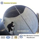 Doublure en céramique de Chemshun pour le descendeur de garniture dans le transport matériel