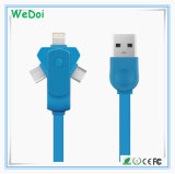 Nuevo cable del teléfono móvil del eslabón giratorio con la velocidad rápida y el bajo costo (WY-CA37)