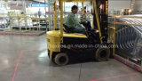 Piloto de la zona de la carretilla elevadora de Singel de la seguridad lateral roja del almacén