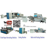 papier de toilette Machine Production Line de 2200mm Automatic Small