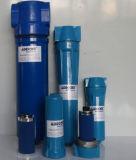 Gas-inline verschmelzender aus Einzelteilen bestehender Druckluft-Inline-Filter (KAF120)