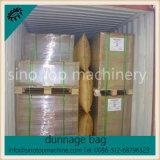 Talla del arreglo para requisitos particulares del aparato para inflar con aire del bolso de aire del envase
