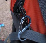 알루미늄 합금 S자형 Carabiner에 의하여 개인화되는 형식 봄 훅 Carabiner
