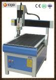 Máquina de acero del ranurador del corte del CNC del PVC del aluminio del metal