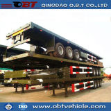 3 Eixo 40FT 45FT Container Chassis Flatbed Semi-reboque Lowbed