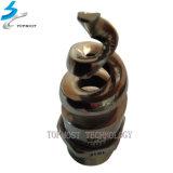 Plein bec de pulvérisation de spirale d'arroseuse de l'eau d'acier inoxydable de cône