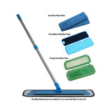 Household Microfiber Cleaning Mop com almofada colorida