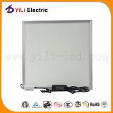 Panel des dünne Decken-weißes Aluminium-130lm/W 600*600mm LED