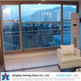 Vidrio aislado E inferior para la pared de cortina de cristal