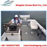 5m con il peschereccio di alluminio del grande spazio di pesca
