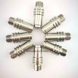 Componente plano modificado para requisitos particulares de la pisada de la pieza inserta de la pista de eslabón giratorio de Lmer de la pieza de la alta precisión del CNC que trabaja a máquina del enchufe Anti-Rotating del acero inoxidable
