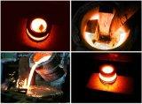 Machine de fonte de fonte de chauffage par induction de creuset pour l'acier 10kg de dessous