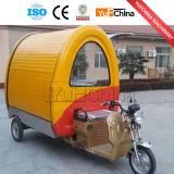 Carro eléctrico del alimento de 3 ruedas