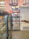 Il supermercato commerciale Redbud-Apre il refrigeratore