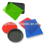 Garniture de couvre-tapis de traitement au four de silicones de la qualité RTV