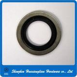 Rondella legata di gomma della guarnizione del metallo autocentrante