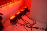 단계 DJ (HL-037)를 위한 24PCS*15W 6in1 LED 동위 램프