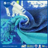 100%年の綿のベロアの反応印刷された子分のビーチタオル