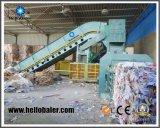 ペーパーボール紙のリサイクルのための1200kn油圧出版物の自動梱包機