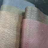 Farbe PU-synthetisches Leder des Ton-zwei für Handtasche