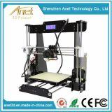 2017 3D 인쇄를 위한 좋은 품질 Reprap 신식 Prusa I3 3D 인쇄 기계