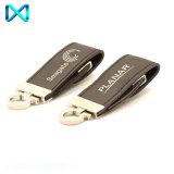 Flash Drive Llavero de la mariposa de cuero personalizada USB