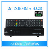 Sintonizador duplo HD Linux Enigma2 Receptor de satélite digital DVB-S / S2 com Hevc / H. 265 Zgemma H5.2s