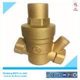 造られた真鍮の水圧の減圧弁か黄銅の安全弁
