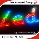 공장 판매 5mm 구멍에 의하여 드러내는 편지 LED를 통해서 5V 밀짚 모자