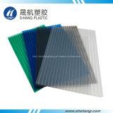 Het berijpte Donkere Blad van het Dakwerk van het Polycarbonaat van het Brons Holle Plastic