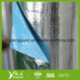 La barrière de vapeur a percé le papier d'aluminium stratifié par tissu tissé