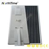 Angeschaltene externe Solarbeleuchtung mit MPPT Cotroller
