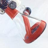 Colored Heady Artesanía de vidrio DAB Rigs con 14mm Female Bowl