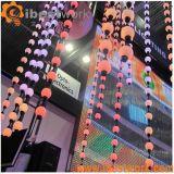 Выставка освещения Madrix шарика DMX СИД 3D