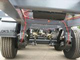 40 Fuß 3axles Flachbett-halb Schlussteil-/einzelner Reifen