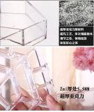 Étalage cosmétique acrylique rotatif de 3 couches, étalage de renivellement